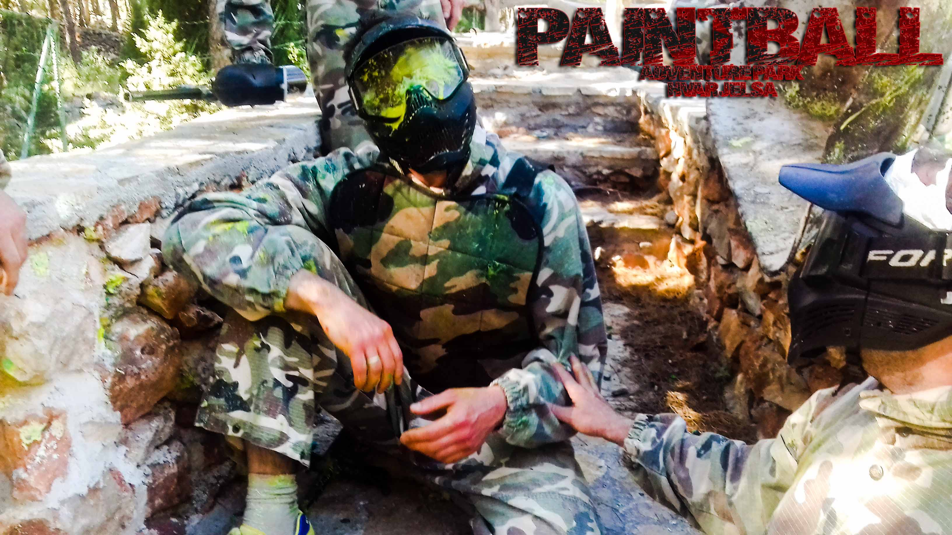 Stag od Hvar acitivities- Paintball
