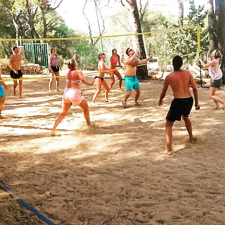 Sport activities Hvar- Beach volleyball