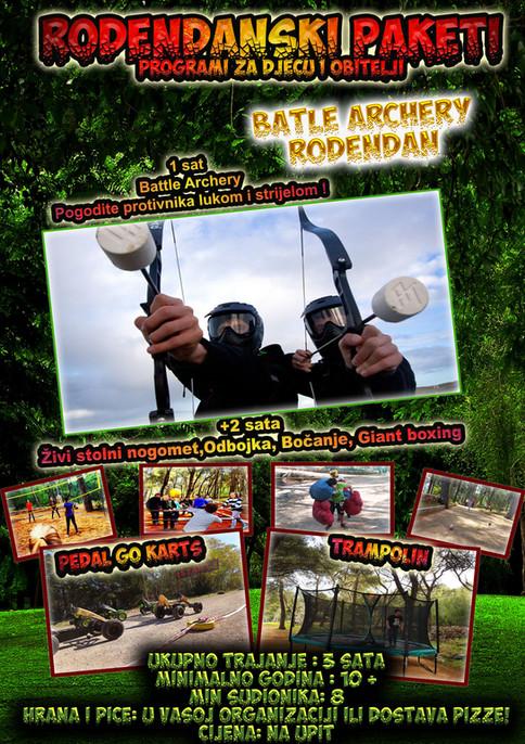 Battle Archery Djecji rođendan