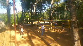 Summer on Hvar ?Try volleyball on sand !
