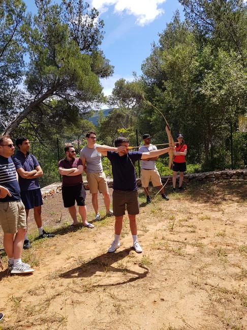 Team building Hvar -Archery