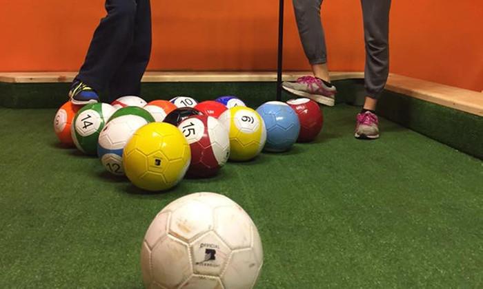 Footpool ili biljar nogomet Hvar Jelsa Dalmacija Hrvatska.
