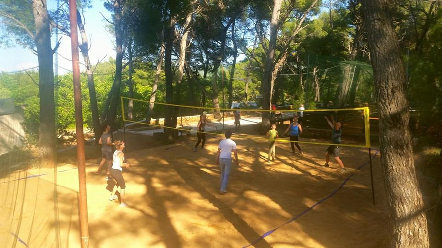 Beach volleyball Hvar