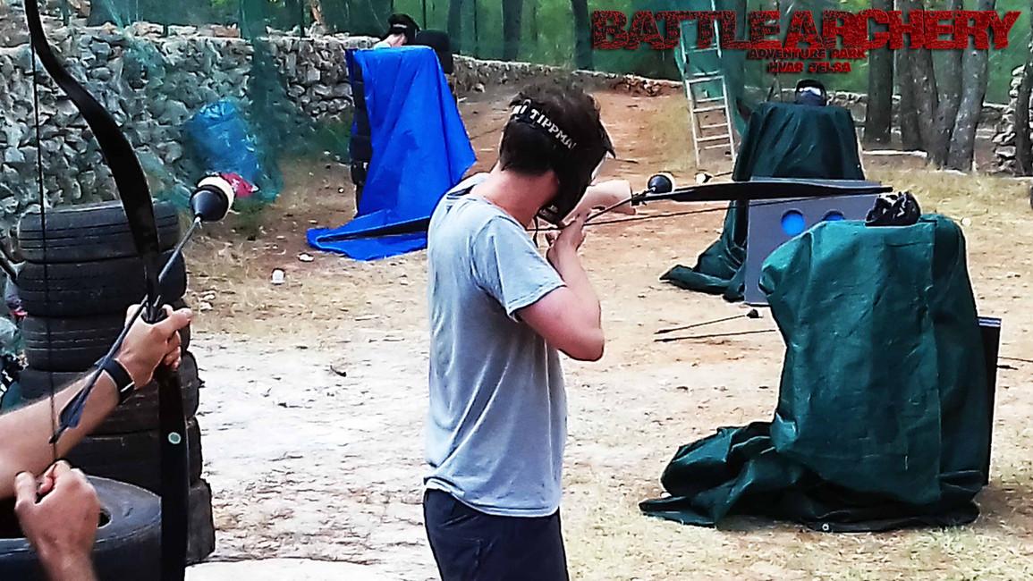 Activities Hvar island - Battle Archery