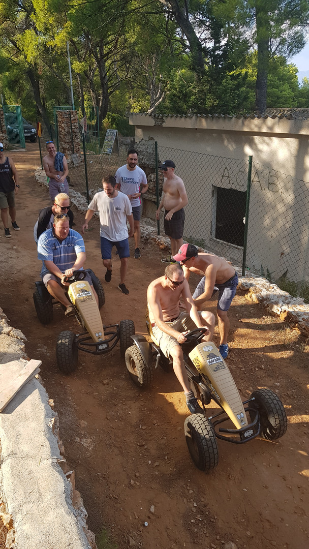 Korčula team building