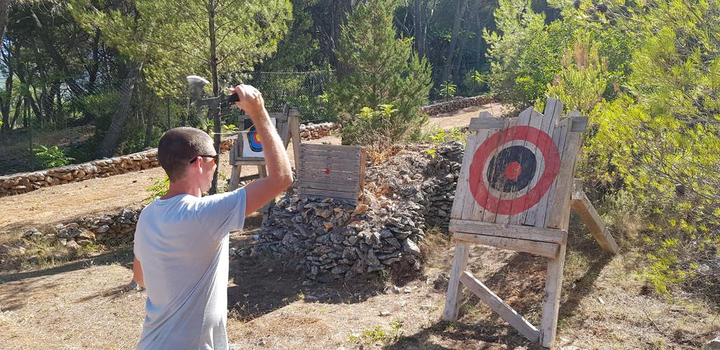 Warrior range- Adventure park Hvar Jelsa