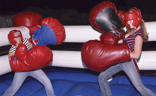 Giant boxing