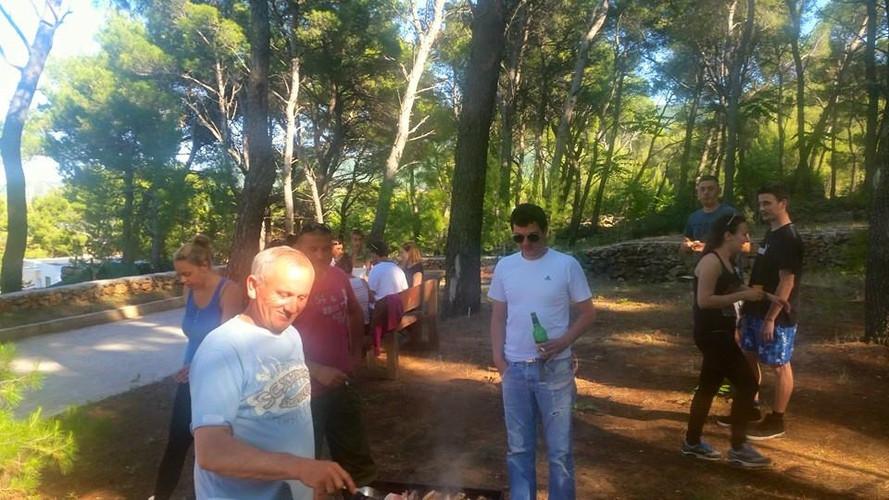 Grill in Adeveture park Hvar Jelsa opening