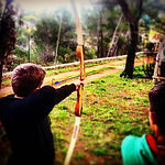 Archery in Day trip with buggy
