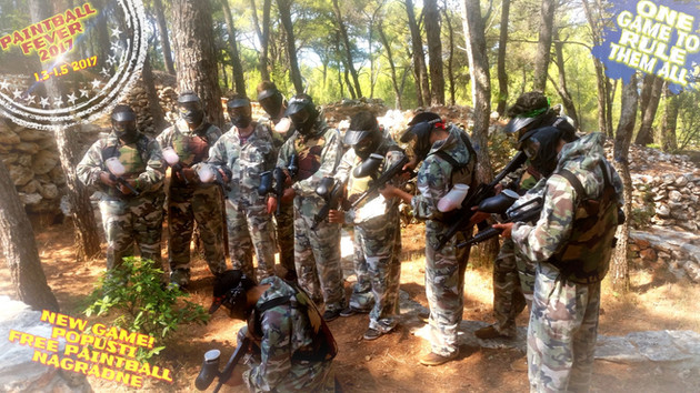 Paintball fever 2017 Hvar