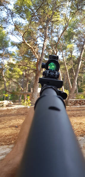 Red dot - Jelsa - Airsoft duel