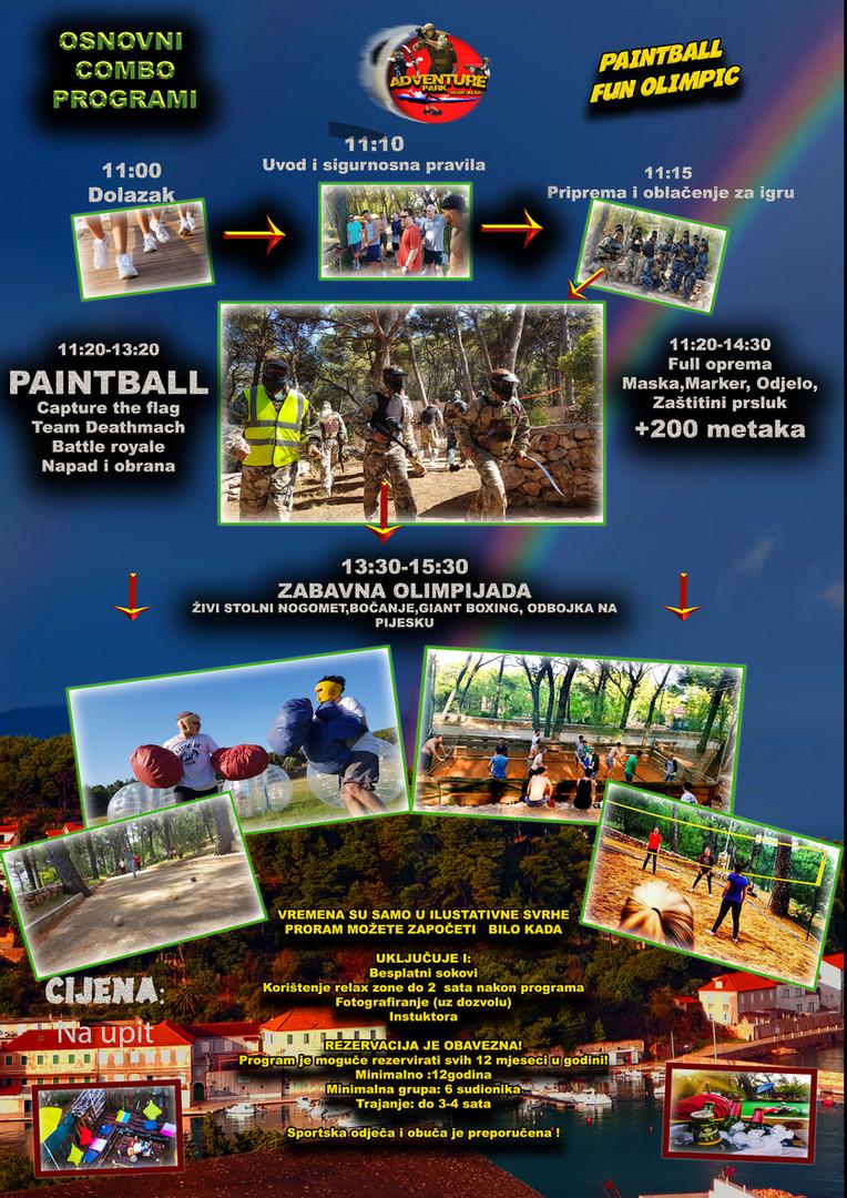 Paintball i Zabavna olimpijada