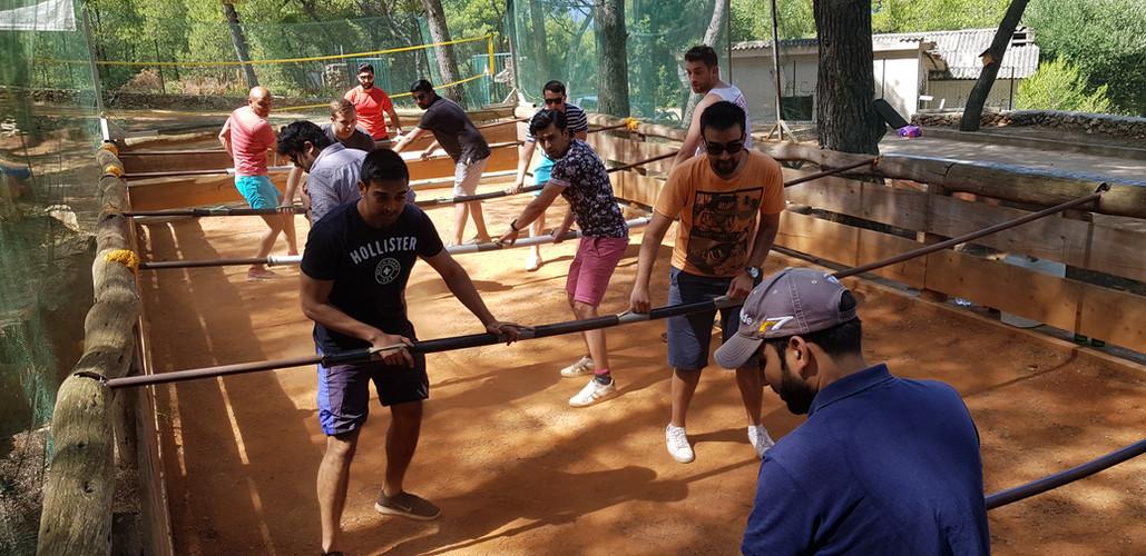 Team building fun Croatia