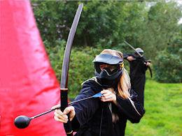 Battle archery in Croatia