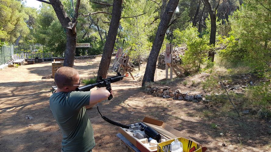 Target practice Dalmatia