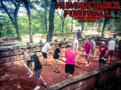 HUMAN TABLE FOOTBALL HVAR