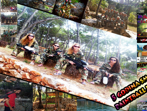 5 GODINA PAINTBALL HVAR JELSE