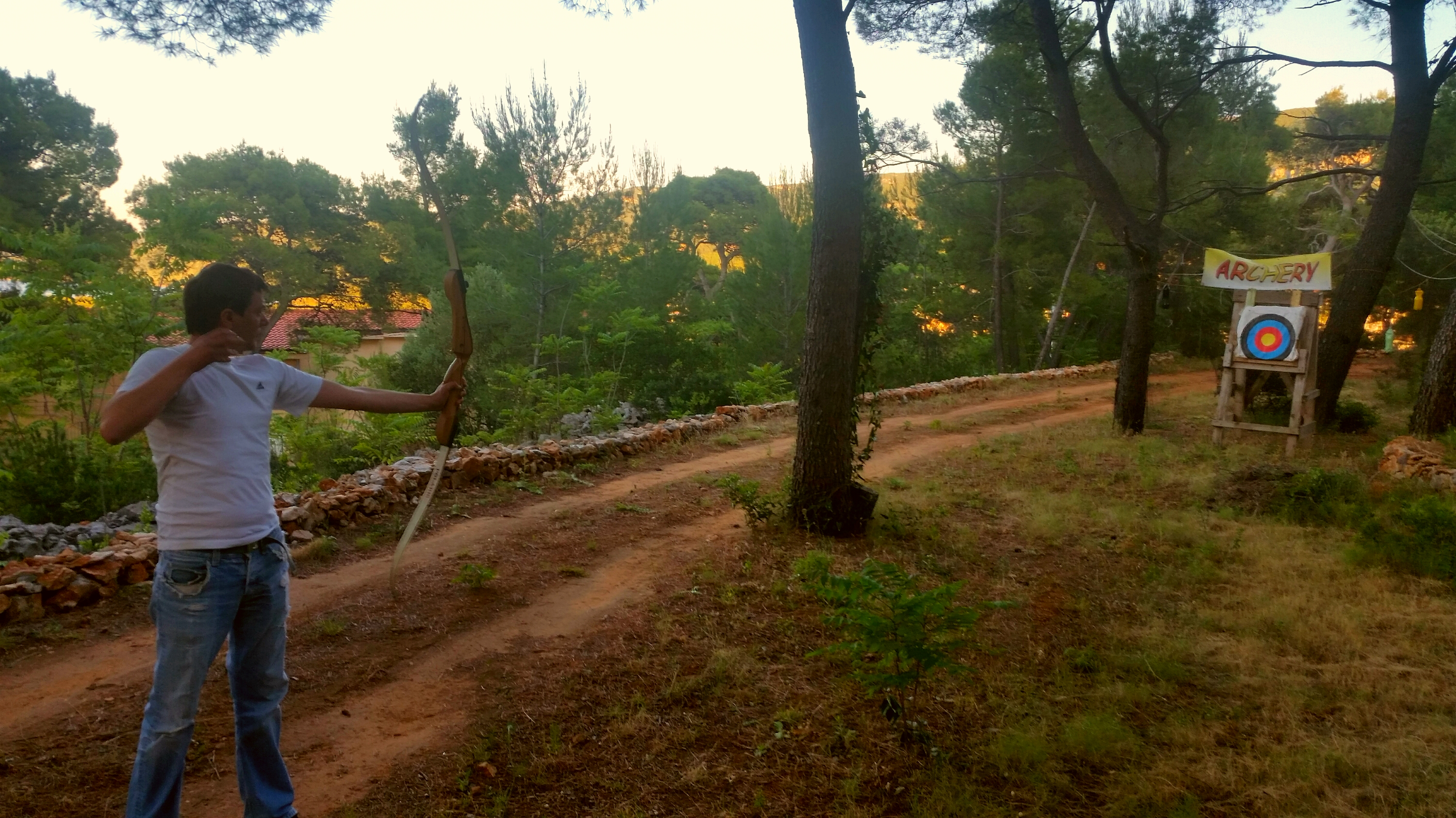 Archery adventure park Hvar Jelsa