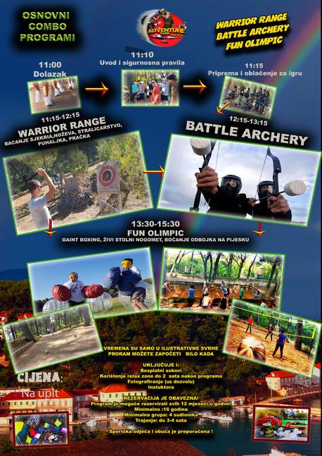 Warrior range , Battle Archery i Zabavna olimpijada