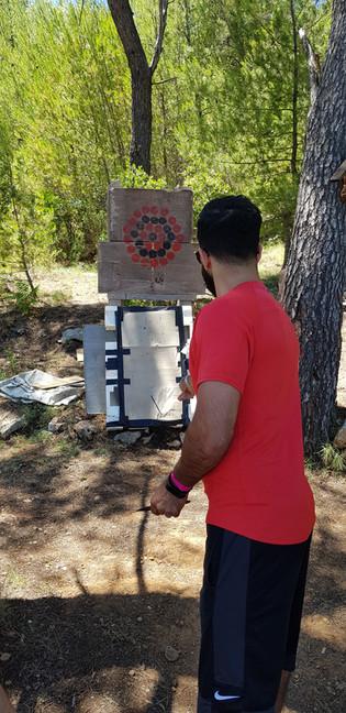 Kinfe begginer and advence target