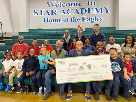 STAR Academy named 1 of 12 local charter schools to receive major grant. (details inside)