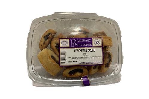 Gevickelte Biscuits