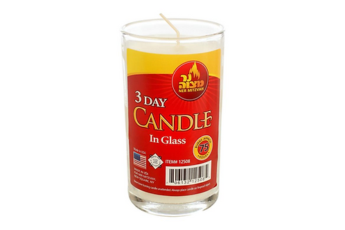 3 Day Candle