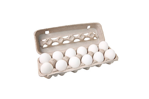A Dozen White Eggs