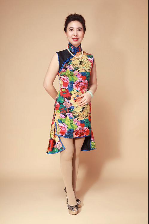 Summer Knee Length Dress