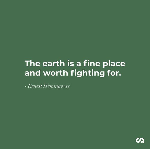 Ernest Hemingway Green Mattress