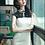 Thumbnail: Bespoke Top Mesh Pearl Satin Dress