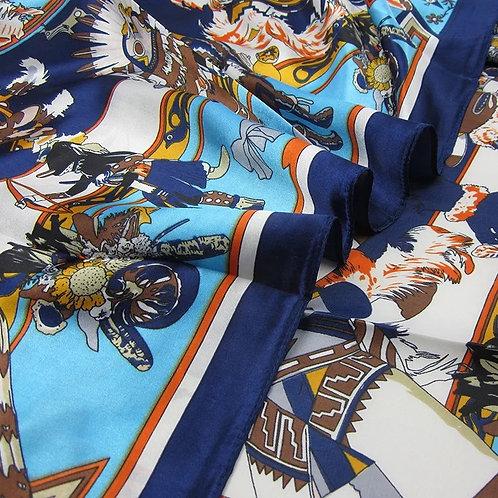Jiang Chipao™ Trendy Handmade Satin Silk Scarf