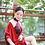 Thumbnail: Bespoke Top Mesh Classic Red Dress