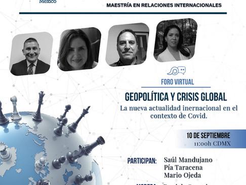 """Jornada de puertas abiertas. Foro """"Geopolítica y crisis global"""""""