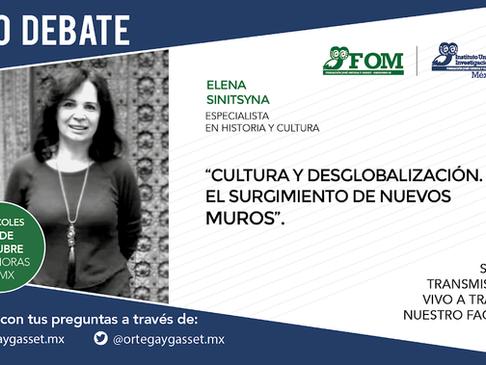 Cultura y desglobalización. El surgimiento de nuevos muros. Por Elena Sinitsyna.