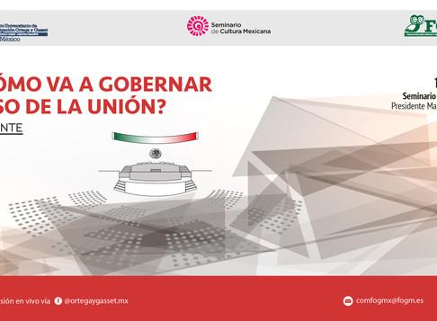 """Seminario Permanente """"Las elecciones 1-J-2018"""" ¿Quién y cómo va a gobernar el Congreso de"""