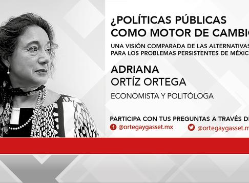 ¿Políticas Públicas como motor de cambio? por Adriana Ortíz Ortega