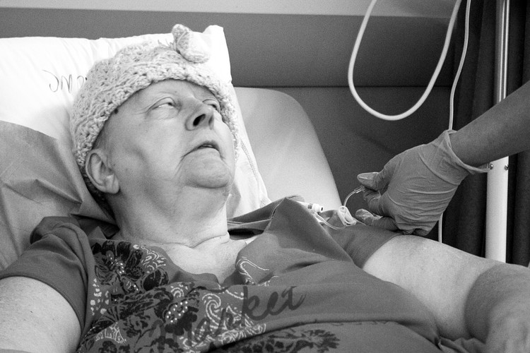Last Day of Chemo Triptych