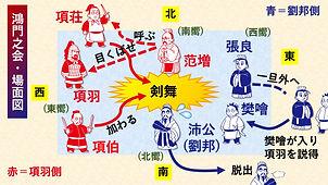 02『史記』鴻門之会(剣の舞場面図).jpg