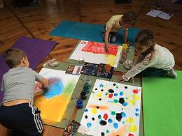 atelier médiation d'art avec  enfants