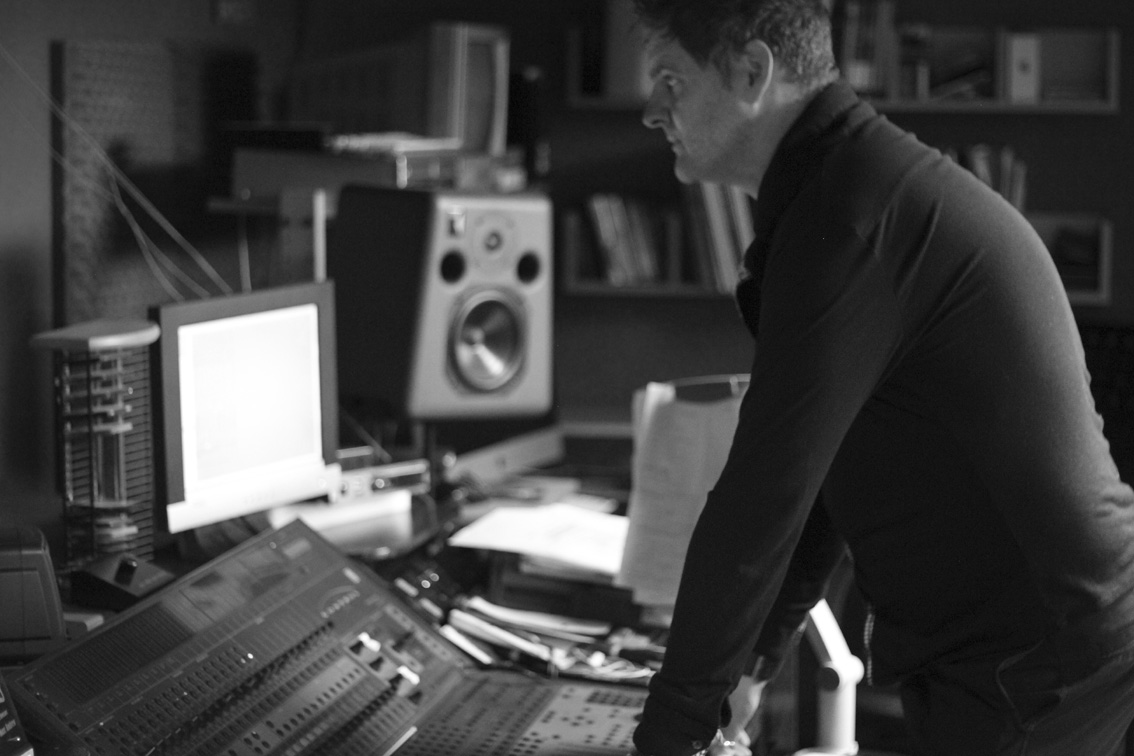 Marc In Sound Room