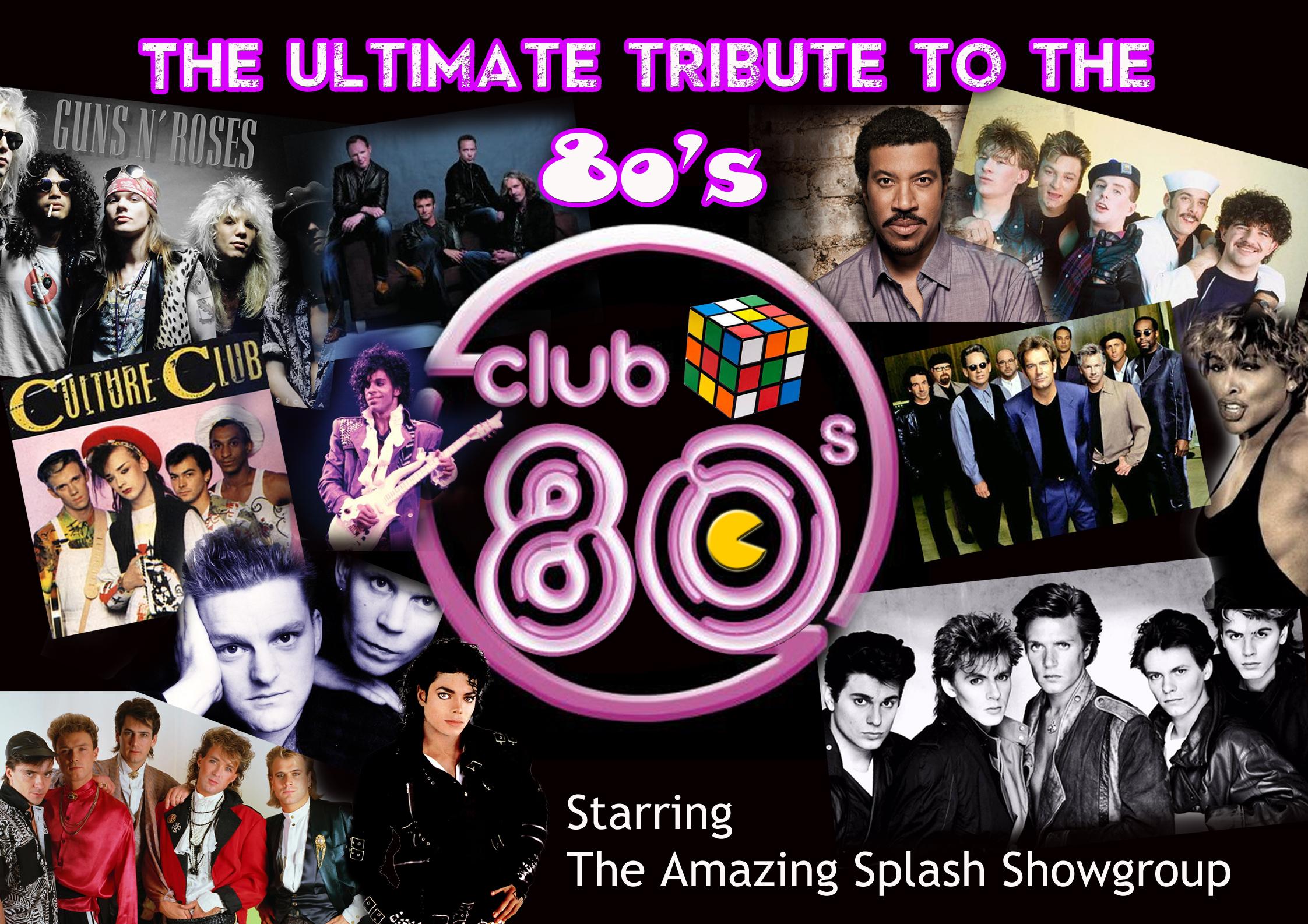 Club 80s Poster web