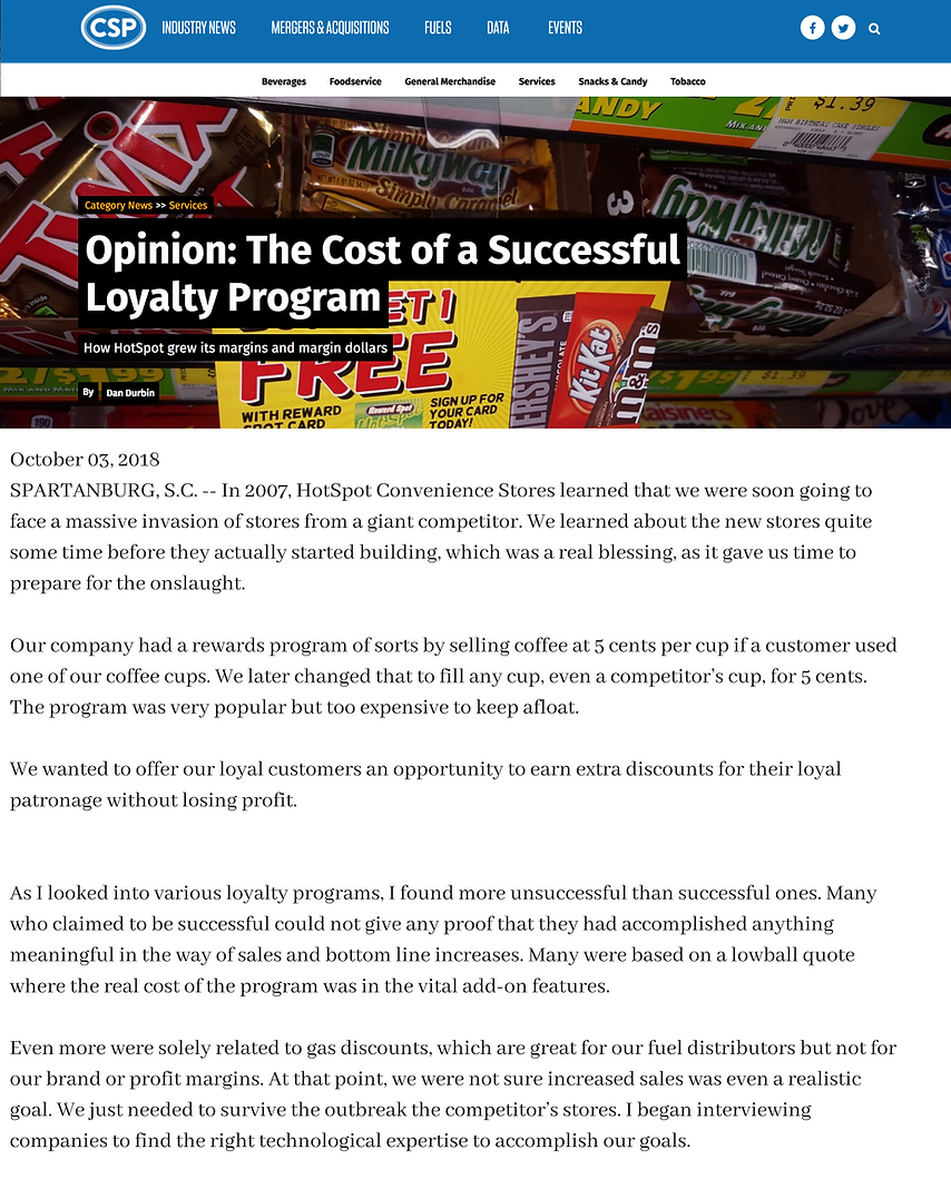 The Cost of a Successful Loyalty Program