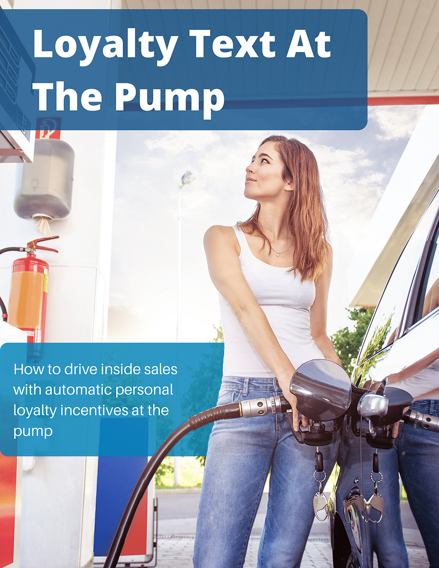 White Paper Loyalty Texts At The Pump (1