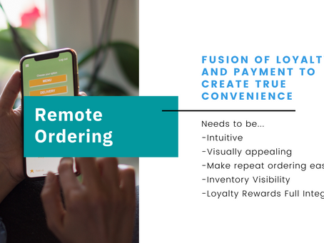 Remote Ordering and Contactless Checkout