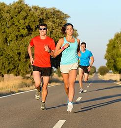 Runners sports massage