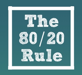 The 80/20 Rule...can it help you create long term results?