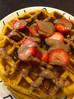 Salted Caramel Pumpkin Protein Waffles