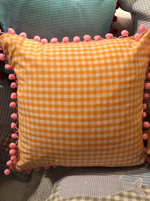 Kissen orange von Sweethomesweet