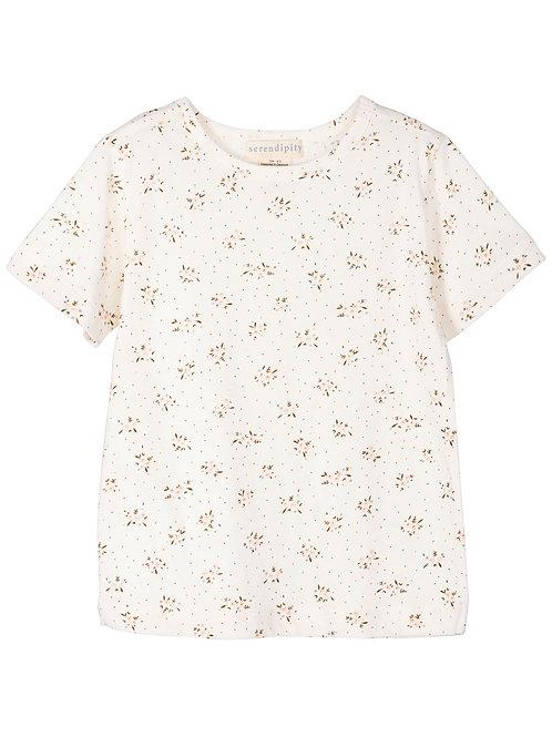 Leichtes Shirt Mini Bloom von Serendipity organics